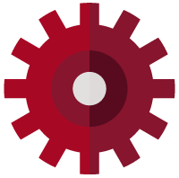 Benchmarking Calculator Gear Icon