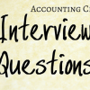 21 of the Best Accounting Clerk Interview Questions — tip of pen with the words Accounting Clerk Interview Questions