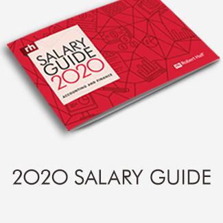 Robert Half Salary Guide 2020 Accounting and Finance