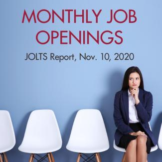 September JOLTS Report: Job Openings at 6.4 Million